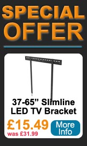 LED slimline 37-65 inch wall bracket